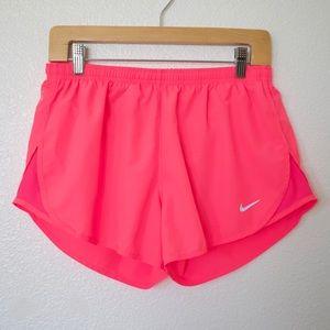 NIKE • Dri Fit Neon Pink Running Shorts • Size M